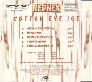 Rednex: Cotton Eye Joe (Single-CD) - Bild 3