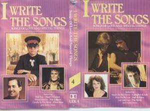 Cover - Paul Williams: I Write The Songs