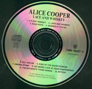 Alice Cooper: Lace And Whiskey (CD) - Bild 3