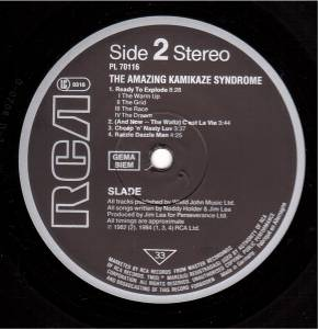 Slade: The Amazing Kamikaze Syndrome (LP) - Bild 6