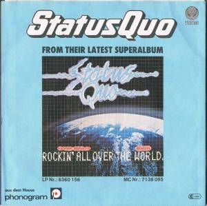 "Status Quo: Rockin' All Over The World (7"") - Bild 2"