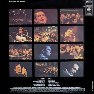 Johnny Cash: At San Quentin (LP) - Bild 2