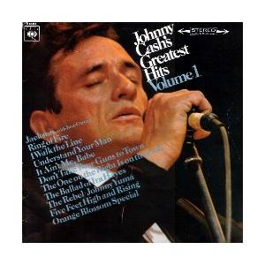 Johnny Cash: Greatest Hits Volume 1 - Cover