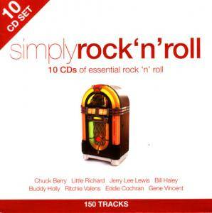 Simply Rock 'n' Roll - 10 CDs Of Essential Rock 'n' Roll - Cover