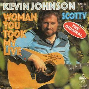 Cover - Kevin Johnson: Woman You Took My Live
