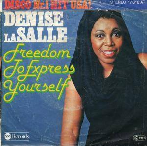 Cover - Denise LaSalle: Freedom To Express Yourself
