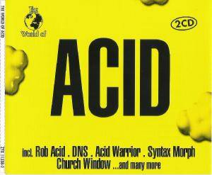 World Of Acid, The - Cover
