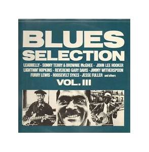 "Cover - Walter ""Furry"" Lewis: Blues Selection Vol. III"
