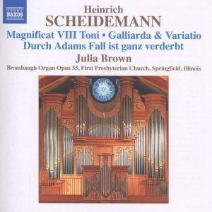 Cover - Heinrich Scheidemann: Organ Works Vol. 6