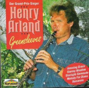 Cover - Henry Arland: Greensleeves