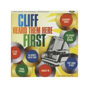 Cover - Little Stevie Wonder: Cliff Heard Them Here First