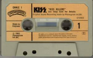 KISS: Killers (Tape) - Bild 5