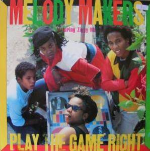 Cover - Ziggy Marley & The Melody Makers: Play The Game Right