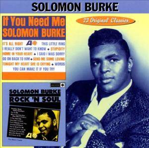 Cover - Solomon Burke: If You Need Me / Rock 'n Soul