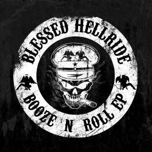Blessed Hellride: Booze 'n' Roll - Cover