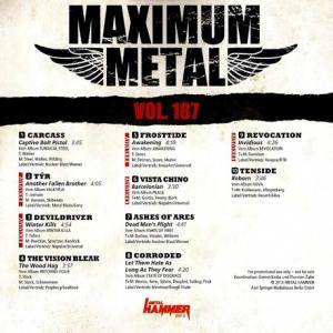 Metal Hammer - Maximum Metal Vol. 187 (CD) - Bild 2