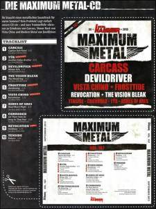 Metal Hammer - Maximum Metal Vol. 187 (CD) - Bild 9