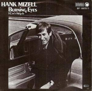 Cover - Hank Mizell: Burning Eyes