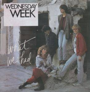 Cover - Wednesday Week: What We Had