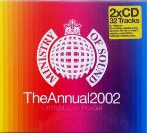 Cover - W.O.S.P.: Ministry Of Sound The Annual 2002