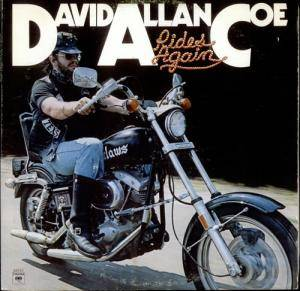David Allan Coe: Rides Again - Cover