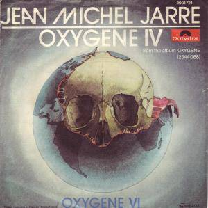 Jean Michel Jarre: Oxygene IV - Cover