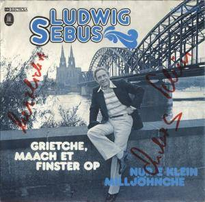 Cover - Ludwig Sebus: Grietche, Maach Et Finster Op