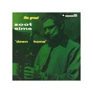 Cover - Zoot Sims: Down Home