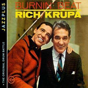 Cover - Gene Krupa & Buddy Rich: Burning Beat / The Original Drum Battle!