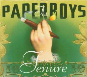 The Paperboys: Tenure - Cover