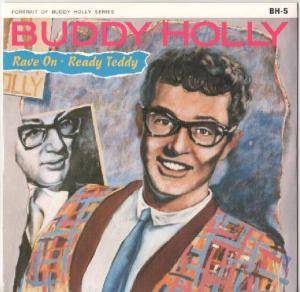 Buddy Holly: Rave On - Cover