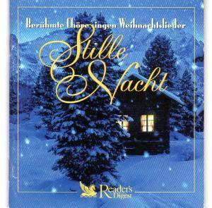 Chöre Singen Weihnachtslieder.Stille Nacht Berühmte Chöre Singen Weihnachtslieder 5 Cd 2000