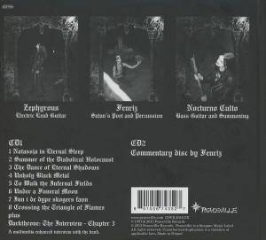 Darkthrone: Under A Funeral Moon (2-CD) - Bild 2