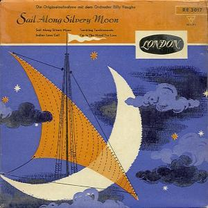 Billy Vaughn & His Orchestra: Sail Along Silvery Moon - Cover