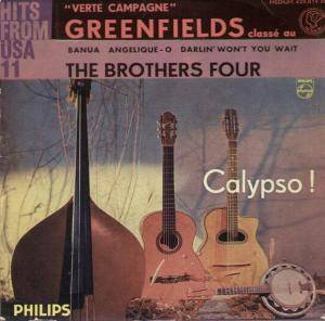 Cover - Brothers Four, The: Verte Campagne - Greenfields