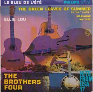 Cover - Brothers Four, The: Bleu De L'ete - The Green Leaves Of Summer, Le
