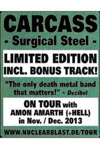 Carcass: Surgical Steel (CD) - Bild 6