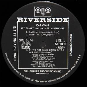 Art Blakey & The Jazz Messengers: Caravan (LP) - Bild 4