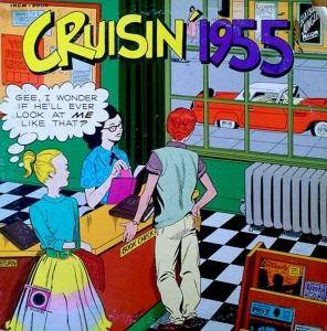 Cover - The Nutmegs: Cruisin' 1955