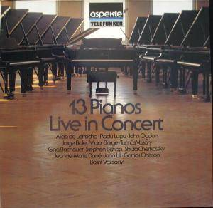 13 Pianos Live In Concert - Cover