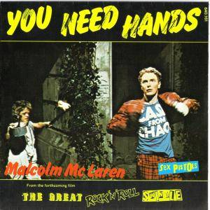 Cover - Malcolm McLaren: You Need Hands