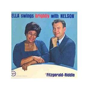 Ella Fitzgerald: Ella Swings Brightly With Nelson (LP) - Bild 1