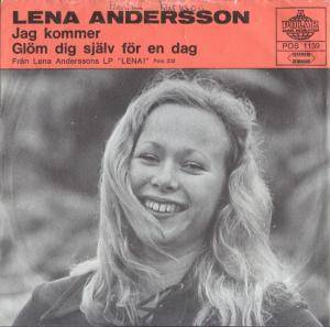 Cover - Lena Andersson: Jag Kommer