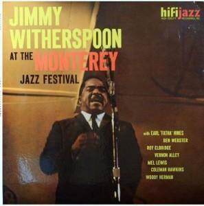 Cover - Jimmy Witherspoon: At The Monterey Jazz Festival