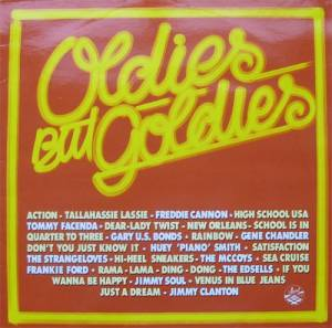 Cover - Edsels, The: Oldies But Goldies (Decca 24856)