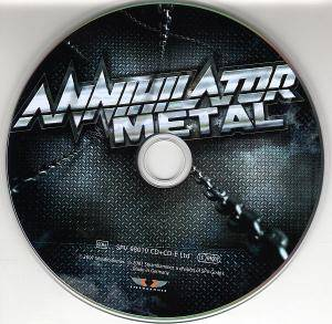 Annihilator: Metal (2-CD) - Bild 3