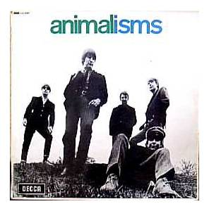 The Animals: Animalisms - Cover
