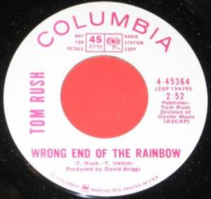 Cover - Tom Rush: Wrong End Of The Rainbow