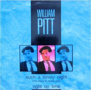 Cover - William Pitt: Such A Lonely Night (I'm Crazy To Leave You)
