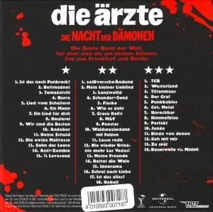 Die Ärzte: Die Nacht Der Dämonen (3-CD) - Bild 2